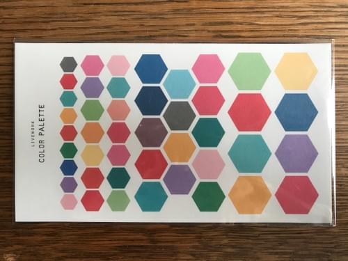 Colour palette stickers