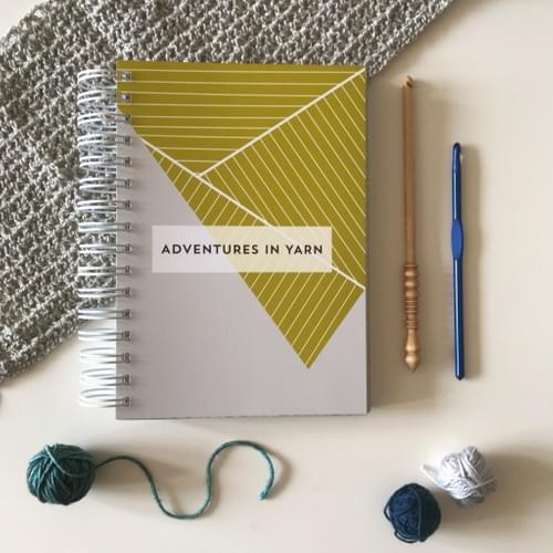 Adventures in Yarn A5 Notebook