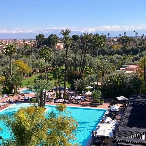 Exclusive Luxurious Health & Well-being Retreat in Marrakech-Morocco