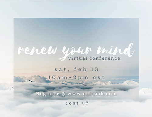 renew your mind // virtual conference