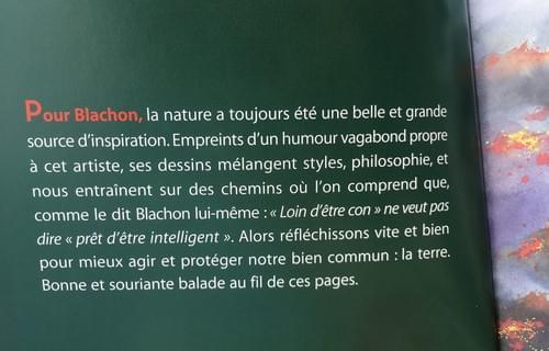 AGENDA 2020 NATURE par BLACHON