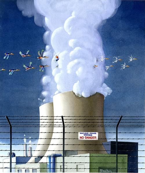 LA CENTRALE NUCLEAIRE
