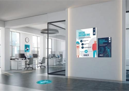 Workplace COVID-19 Signage Pack