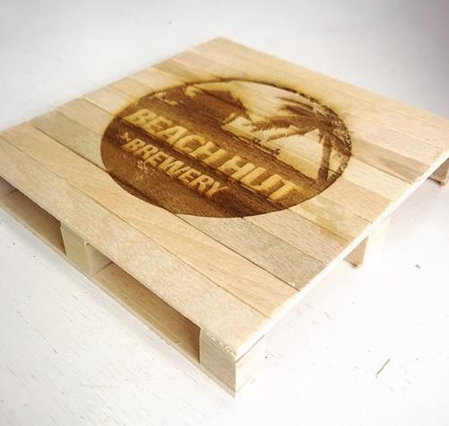 HUT Beer Coaster