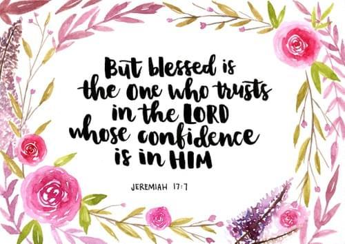 Jeremiah 17:7 Painting