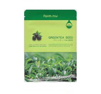 [Farmstay] Visible Difference Mask Sheet - Green Tea Seed