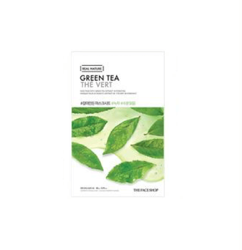 [The Face Shop] Real Nature Maske - Green Tea