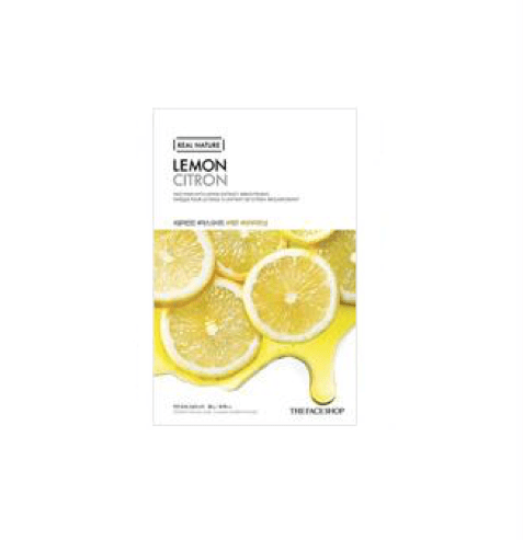 [The Face Shop] Real Nature Maske - Lemon