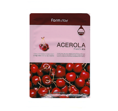 [Farmstay] Visible Difference Mask Sheet - Acerola