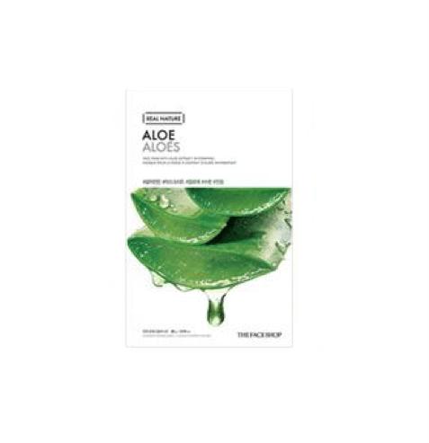 [The Face Shop] Real Nature Maske - Aloe