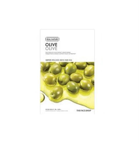 [The Face Shop] Real Nature Maske - Olive