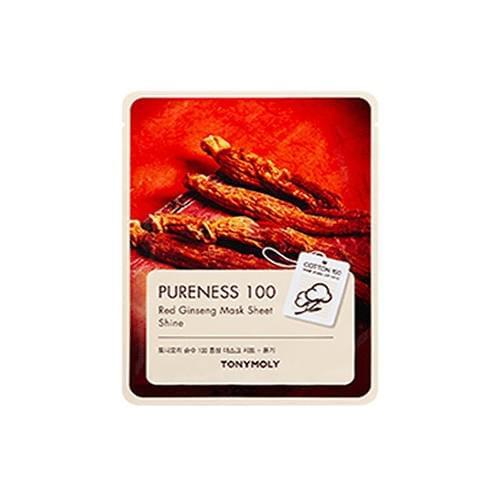 [Tonymoly] Pureness 100 Red Ginseng Mask Sheet