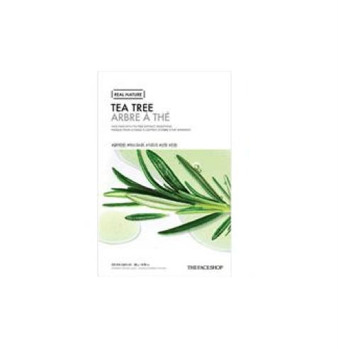 [The Face Shop] Real Nature Maske - Tea Tree
