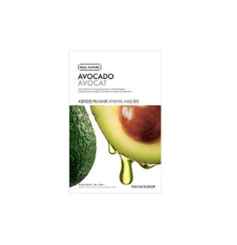 [The Face Shop] Real Nature Maske - Avocado