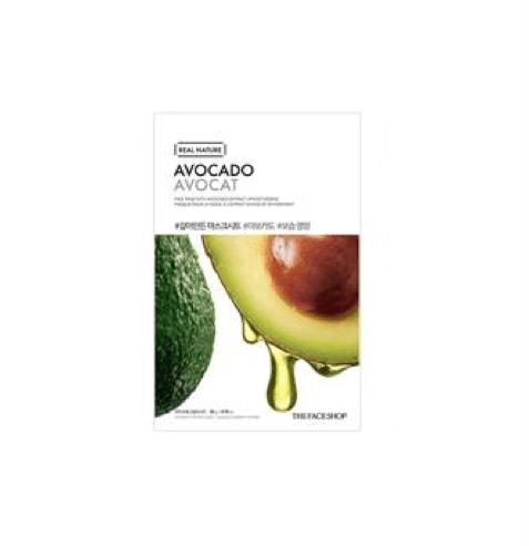 [The Face Shop] Real Nature Maske - Avocado