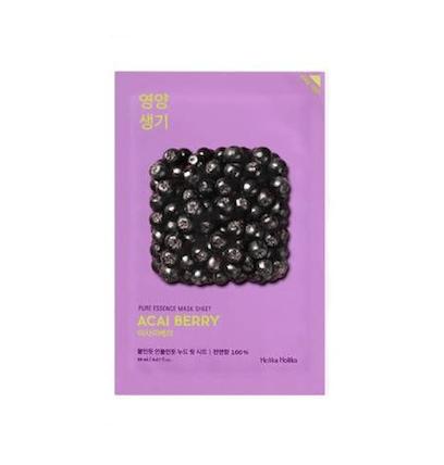 [Holika Holika] Pure Essence Maske - Asai berry