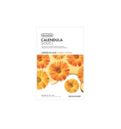 [The Face Shop] Real Nature Maske - Calendula