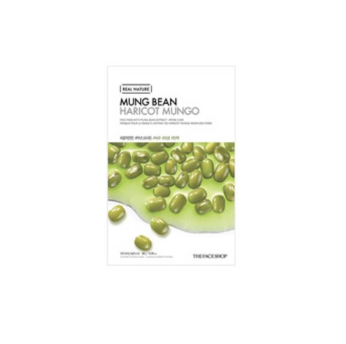 [The Face Shop] Real Nature Maske - Mungbohnen