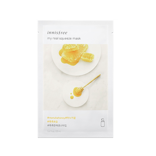 [Innisfree] My real Squeeze Maske (New Version) - Manuka-Honig