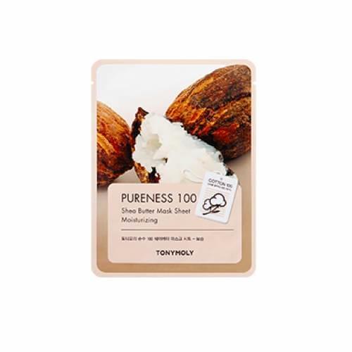 [Tonymoly] Pureness 100 Shea Butter Sheetmask