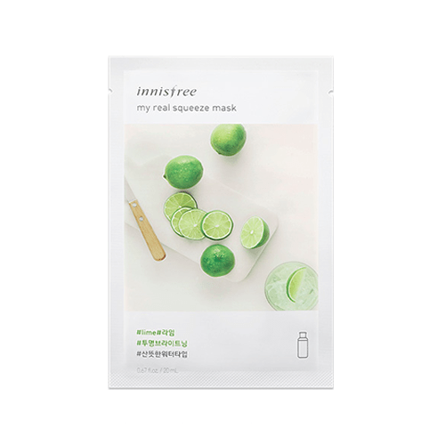 [Innisfree] My real squeeze mask (New Version) - Limette