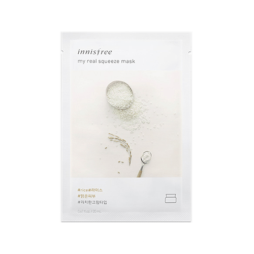 [Innisfree] My real squeeze mask (New Version) - Rice