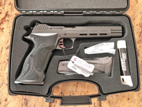 SIG SAUER - P210 SuperMatch Skeleton Midnight