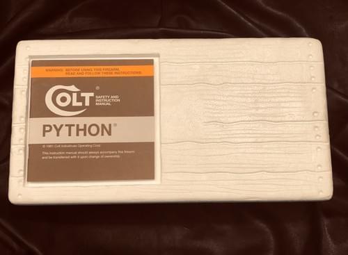 "COLT PYTHON 4"" - 1979"