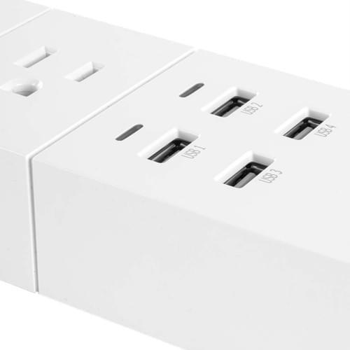 Regleta Wifi con 4 tomas y 4 USB - NEXXT Solutions