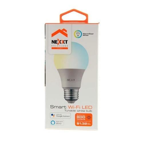 Foco LED Wifi · Luz Blanca y Amarilla Regulable - NEXXT Solutions (Individual o 2-Pack)