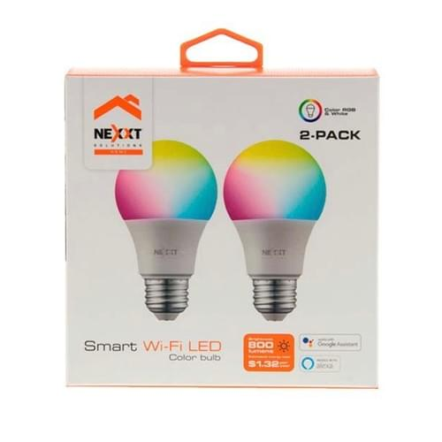 Foco LED Multicolor Wifi - NEXXT Solutions (Individual o 2-Pack)