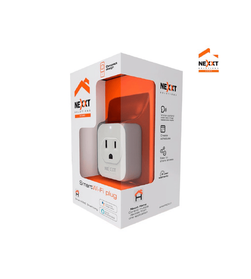 Enchufe Inteligente Wifi - NEXXT Solutions (Individual o 2-Pack)