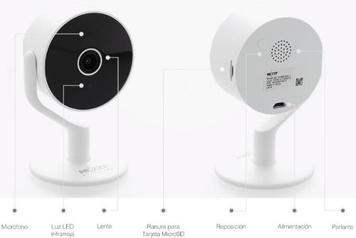 Cámara Inteligente Wifi para interior - NEXXT Solutions (Individual o 2-Pack)