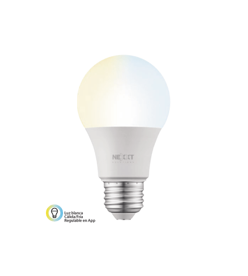 Foco LED Wifi · Luz Blanca y Amarilla Regulable - NEXXT Solutions (Individual o 2-Pack)
