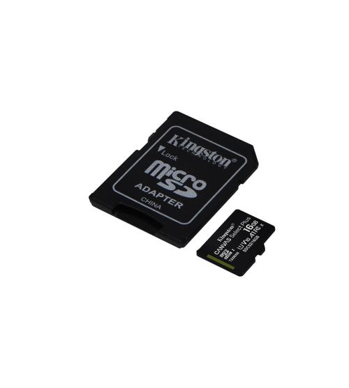 Kingston Tarjeta microSD 16GB - Canvas Select Plus