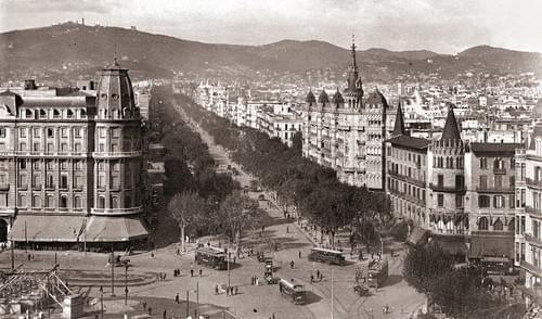 Hotel Colón / Paseo de Gracia, años 20