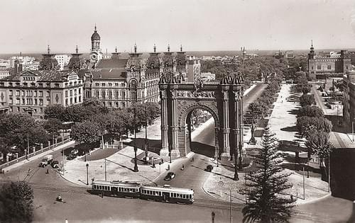Arco de Triunfo, 40ies / 50ies