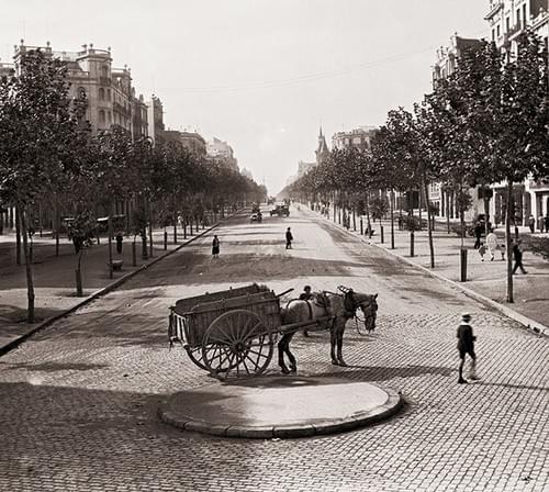 Barcelona, Paseo San Juan, 20ies