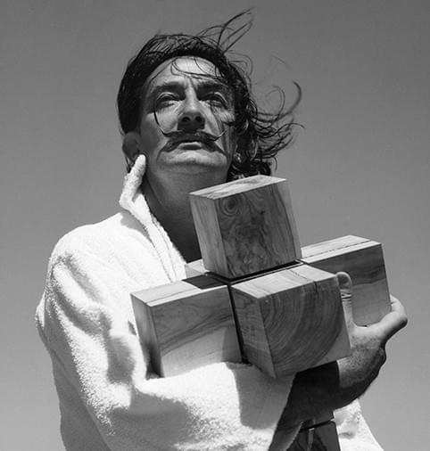 Català-Roca, Dalí, Cristo Hipercubicus, 1953