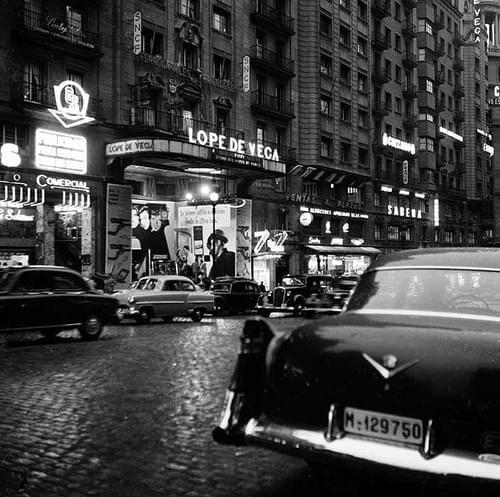 Lope de Vega, Madrid 1950