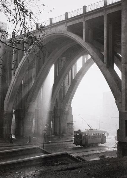 """Viaducto"" calle Bailén - Madrid 1953/54"