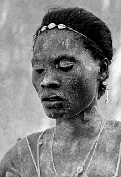 Mujer ceremonia