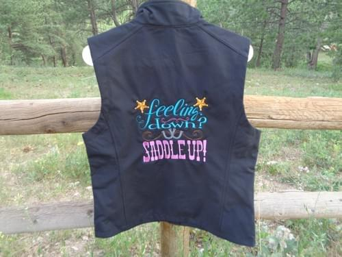 Women's Large Soft Shell Vest.