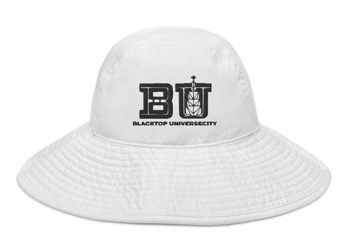 BU Wide Brim Bucket Hat