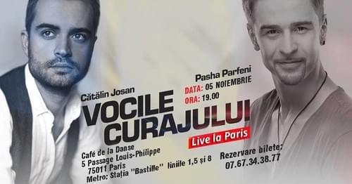 Vocile Curajului | 5 NOV | PARIS