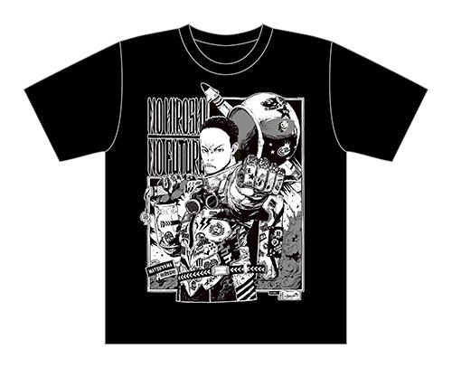 サイバーコネクトツー松山洋 x jbstyle. コラボTシャツ【黒・モノクロ】