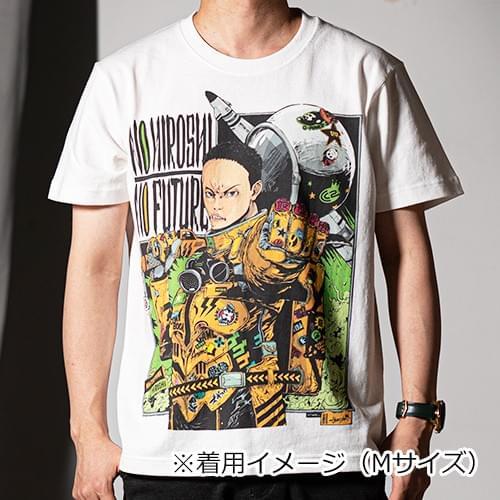 【白・モノクロ】サイバーコネクトツー松山洋 x jbstyle. コラボTシャツ
