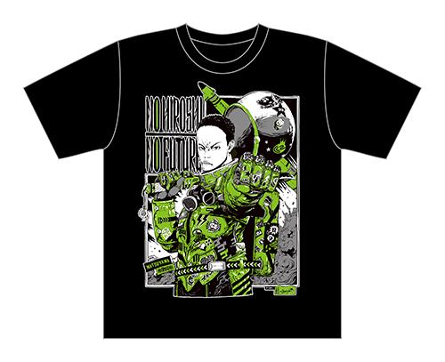 サイバーコネクトツー松山洋 x jbstyle. コラボTシャツ【黒・モノカラー】