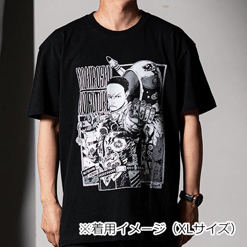 サイバーコネクトツー松山洋 x jbstyle. コラボTシャツ【黒・フルカラー】