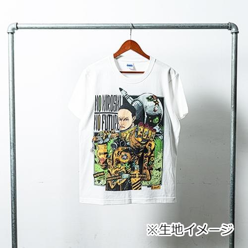 サイバーコネクトツー松山洋 x jbstyle. コラボTシャツ【白・モノカラー】